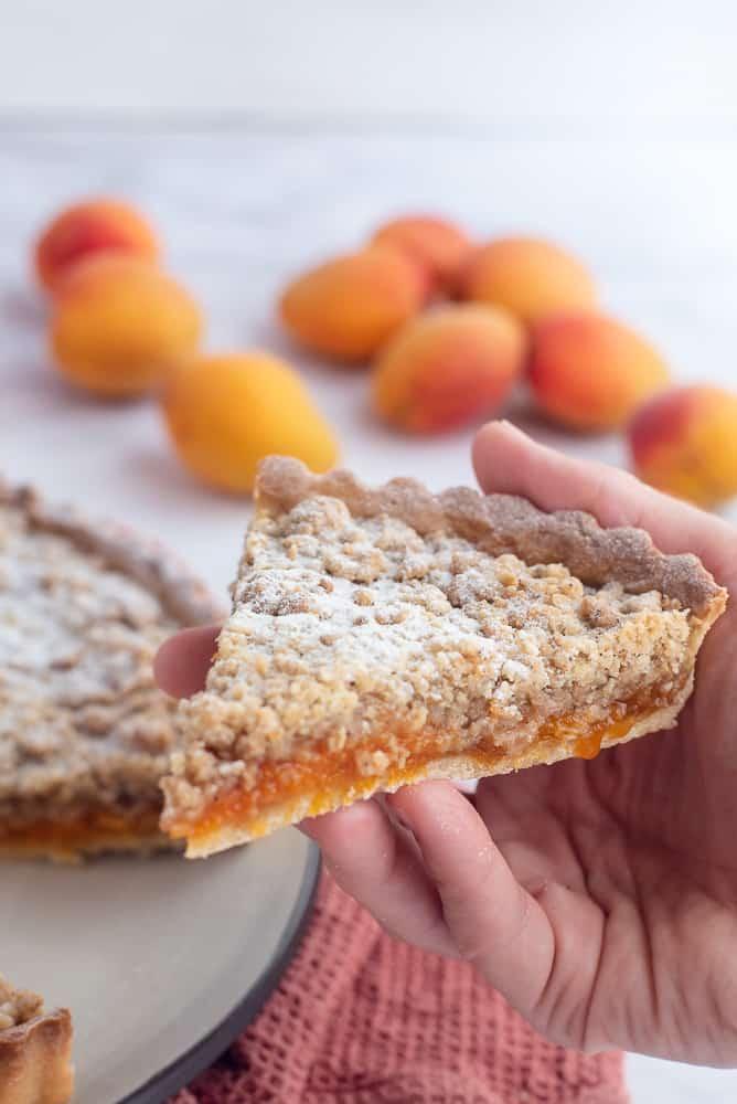 Apricot Streusel Tart