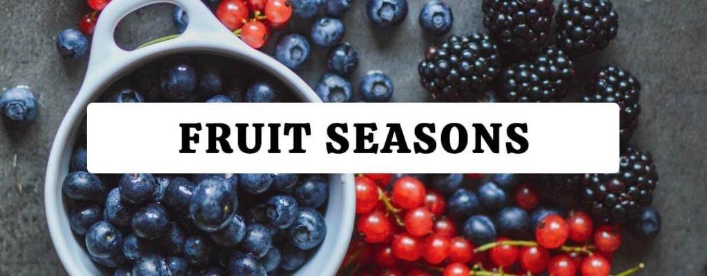 Fruit seasons